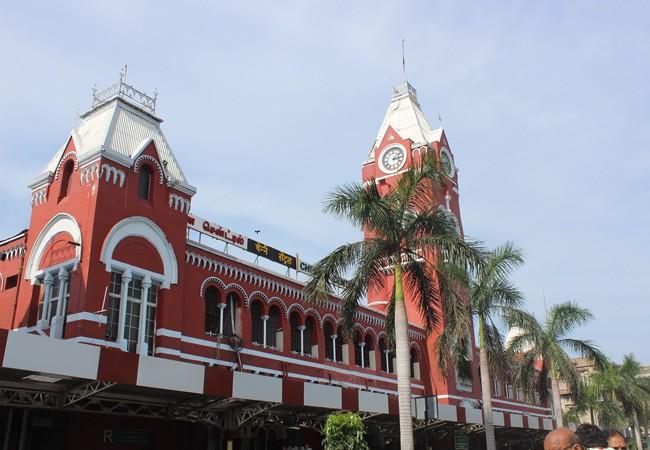visiting chennai station