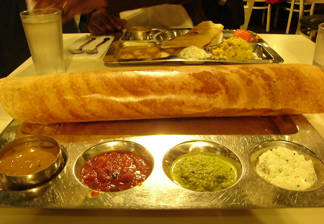 what to eat and drink in chennai dosa