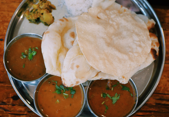 what to eat and drink in chennai thali
